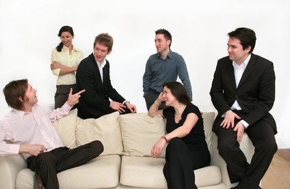 business team - conversation