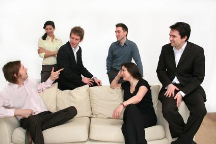 business team - conversation